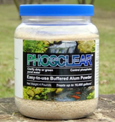 PhosClear Pond Clarifier 4 Pounds- Closeout