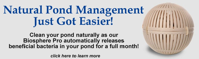 Natural Pond Management Just Got Easier!
